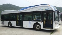 First electric road charges buses in Korea powered by OLEV