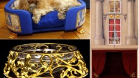 24 carat gold furniture collection for uber rich poochies
