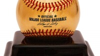 24ct Gold Baseball for Homerun Derby is every baseball lover's dream memorabilia