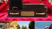 A luxury hotel in Mexico is offering to celebrate newly divorced with a coffin for their wedding ring