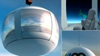 Space travel in balloon for $156,000 per seat