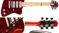 Gibson Firebird X is a self-tuning guitar and runs apps too