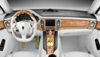 Topcar's Porsche Stingray GTR bodykit boasts crocodile leather and real gold interiors