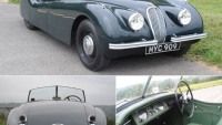 Classic Jaguar's first post-war sports car XK120 up for auction