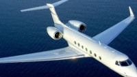 Gulfstream private jet