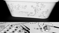Sabbia creates bathtubs studded with Swarovski crystals