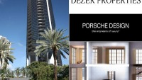 "The Porsche Design Group ultra-luxury tower in Sunny Isles Beach offers ""Sky Garages"""