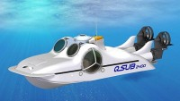 World's first planing submarine Q-Sub 2400 comes with its own mothership
