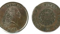 A Rare 1793 penny sells for over $1 million