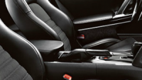 Leather appointed front seats