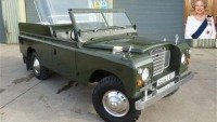 A 1978 Land Rover owned by Queen Elizabeth II set for auction
