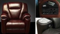 The i-Fi Chair is your personal sound system!
