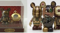 Limited edition Vinylmation Steampunk set includes a pocket watch
