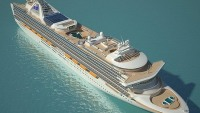 Grand Princess luxury cruise ship goes for an extreme makeover