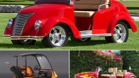 Most luxurious golf carts to hit the greens in style