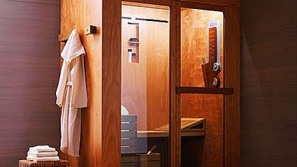 Luxury spa treatment with Three-in-one Tris shower cabin