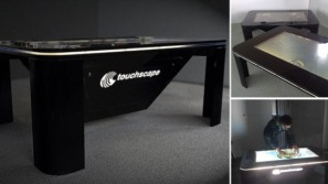 Touchscape Multi-Touch coffee table is stylish enough to suit any space