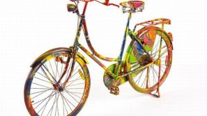 Renowned artists, including Damien Hirst, design bikes for ICA Gala