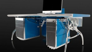Bugatti Grand Prix racing car inspired desk for auto lovers