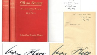 Mein Kampf copies signed by Hitler sold for $65, 000