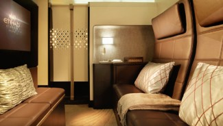 A Three Room Residence on Etihad A 380 worth $43,000