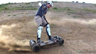 $6100 Gnarboards electric skateboard Trail Rider is for Formula One enthusiasts