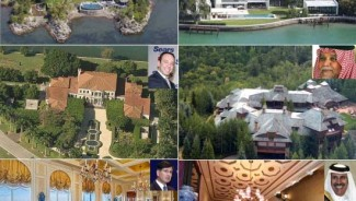 Big buyers and sellers of luxury real estate in 2012