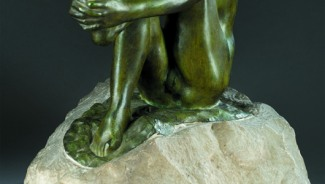Newly authenticated Rodin sculpture sells for $306,800 at Quinn's