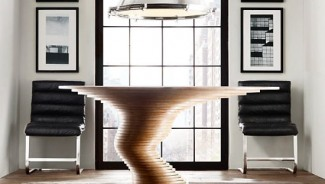 Marcello Pozzi's Stack 50 table is one for the geeks