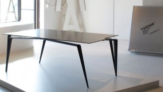 Maximillian Eicke's high end furniture line boasts $68k Panther Table made of carbon fiber and titanium