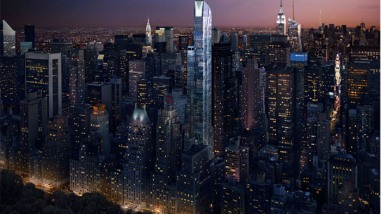 The Most Expensive Residence Ever Sold in New York City: the $100.5 Million Duplex Penthouse at One57 Condo Tower