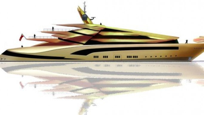 Alex McDiarmid shows iguana-inspired 85m Iwana superyacht concept