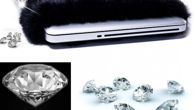 $11 million Diamond Laptop Sleeve by Coverbee is the world's most expensive laptop case