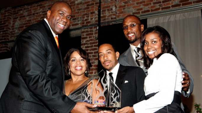 Magic Johnson attends the 5th Annual Ludacris Foundation Dinner and Casino night