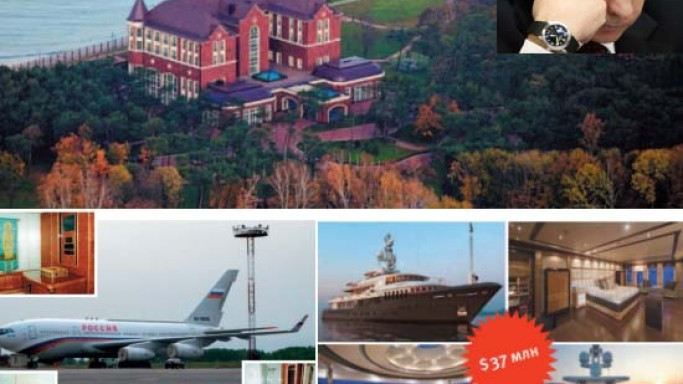 Vladimir Putin's filthy rich lifestyle: 4 yachts, 58 aircraft, 20 homes and a $75,000 toilet