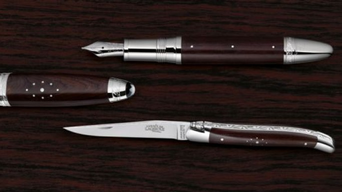 Montblanc Masters for Meisterstück series is a tribute to the traditional French knives