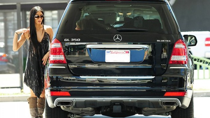 Actress Nicole Scherzinger loves to take out her Mercedes GL350 CDI on drives in and around Los Angeles.