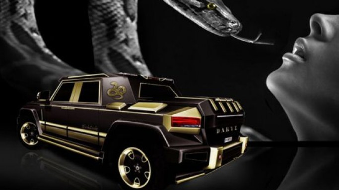 $1 million Dartz Black Snake special-edition for China unveiled to celebrate 'Year of the Snake'
