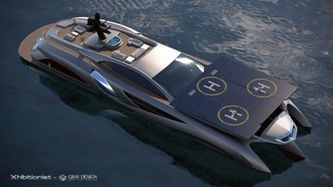 Concept Superyacht Xhibitionist by Gray Design is a Masterful Blend of Style, Purpose and Efficiency