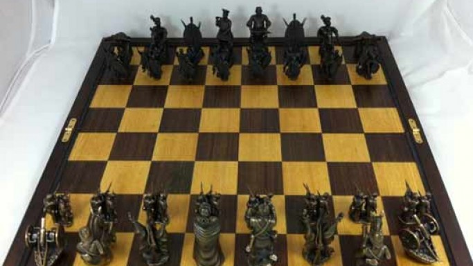 The Littlehand Anglo-Zulu war chess set from Littlehand recreates chapters of military history