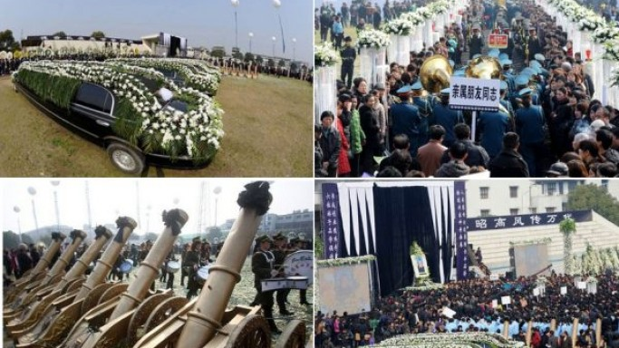 So, what does a $1 million funeral look like?