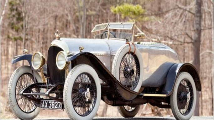 World's first production Bentley up for auction