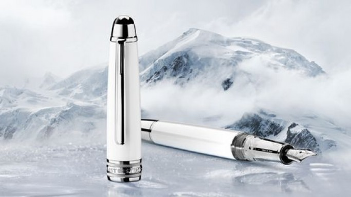 Tribute to the Mont Blanc collection is a priceless wonder
