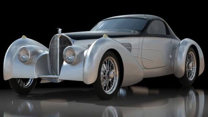 Delahaye rejuvenates the Buggati Bella Figura Type 57S Coupe as per your choice