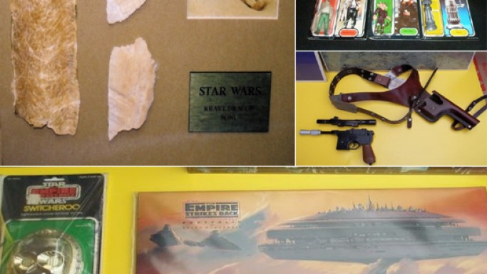 Euphoria at one of the largest Star Wars memorabilia auctions