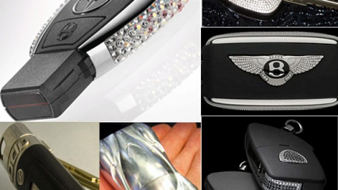 World's most expensive car keys