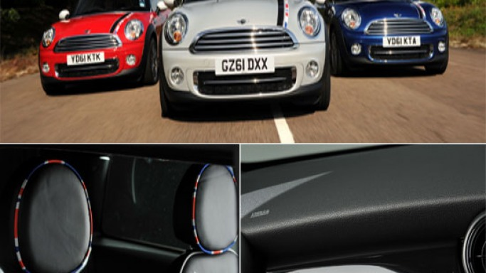 Mini Cooper launches limited edition 2012 London Olympics series