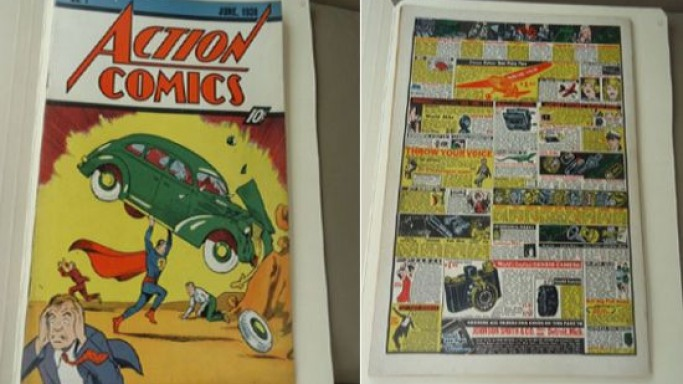 Nicolas Cage Copy Of Action Comics #1 could be the most expensive comic