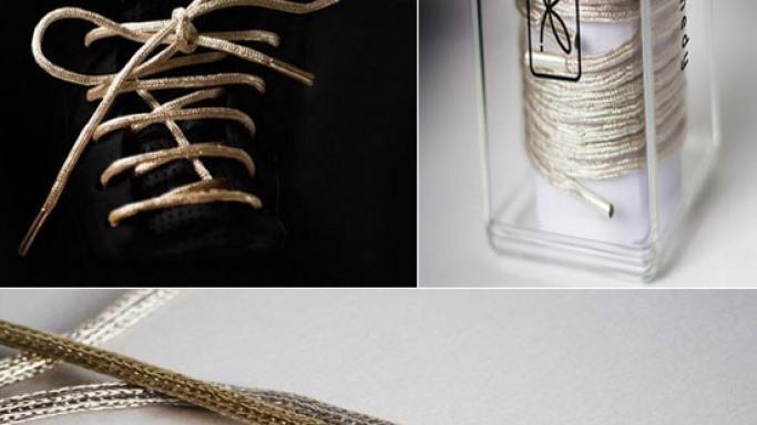 Behold the $19,000 gold shoe laces