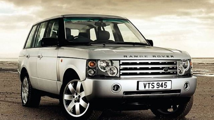Range Rover car - Color: Silver  // Description: amazing
